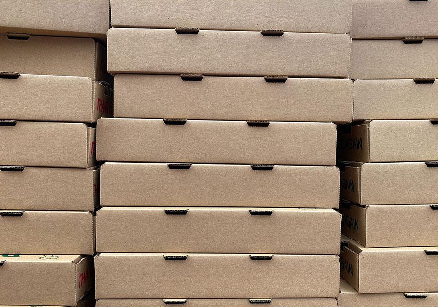 Récord de ventas en cajas de pizza